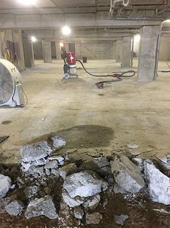 Concrete Floor Demolution Service