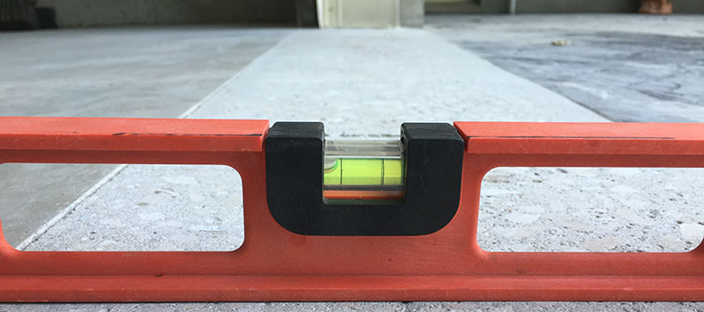 Concrete Floor Leveling of Driveways
