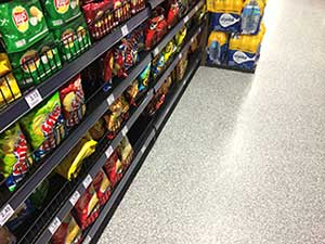 Food Industry Flooring - Grocery Store